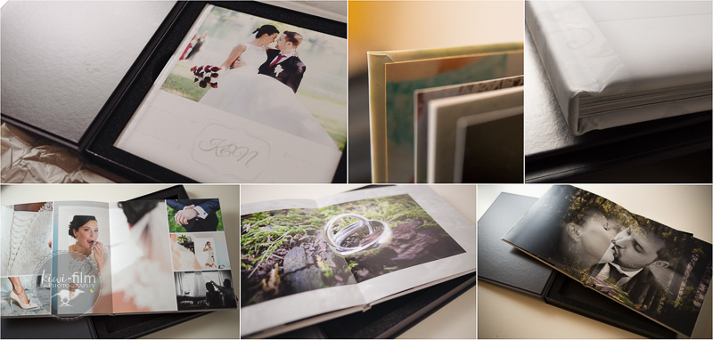 kiwi wedding album